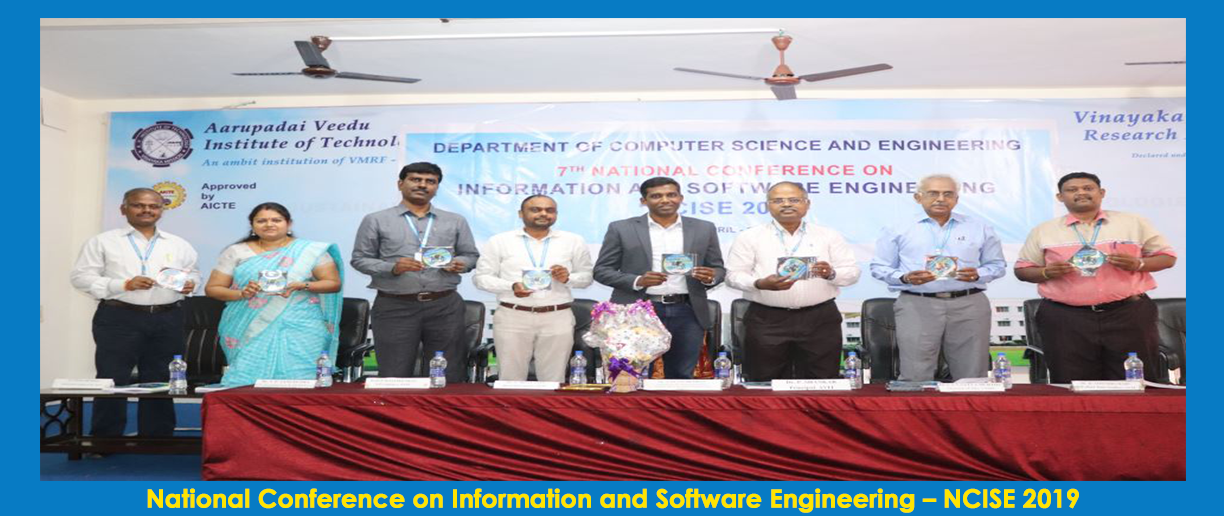 Report of 7th National Conference on Information and Software Engineering – NCISE 2019