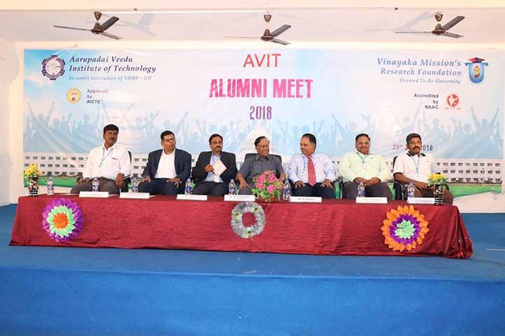 AVIT Alumni Meet 2018