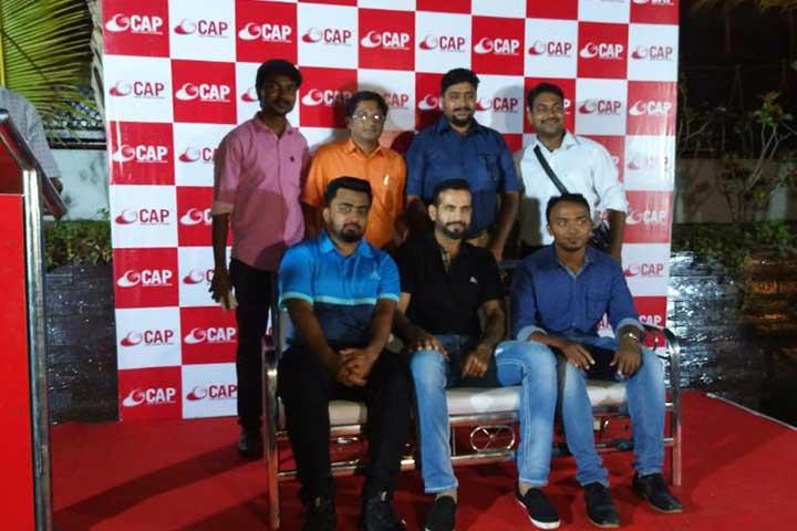 Irfan Pathan In AVIT Alumni Meet