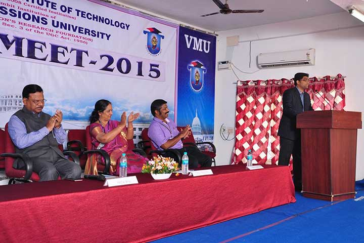 Speech in Alumni Meet 2015