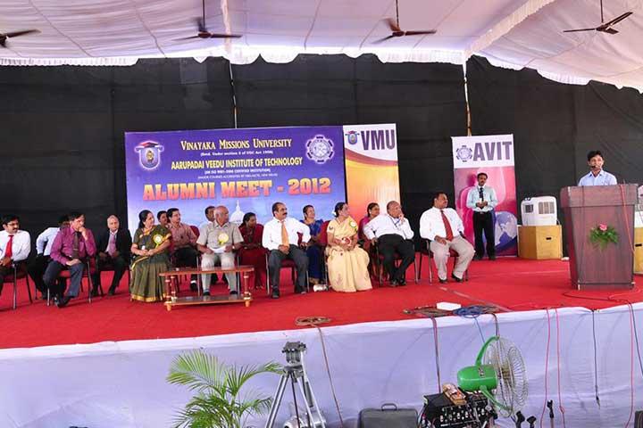 AVIT Alumni Meet 2012
