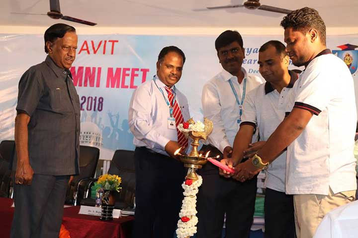inauguration of AVIT  Alumni Meet 2018
