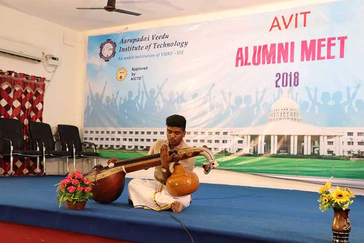 Sitar in AVIT Alumni Meet 2018