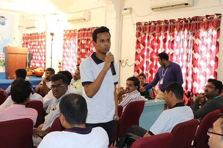 Coordinator in AVIT Alumni Meet 2018