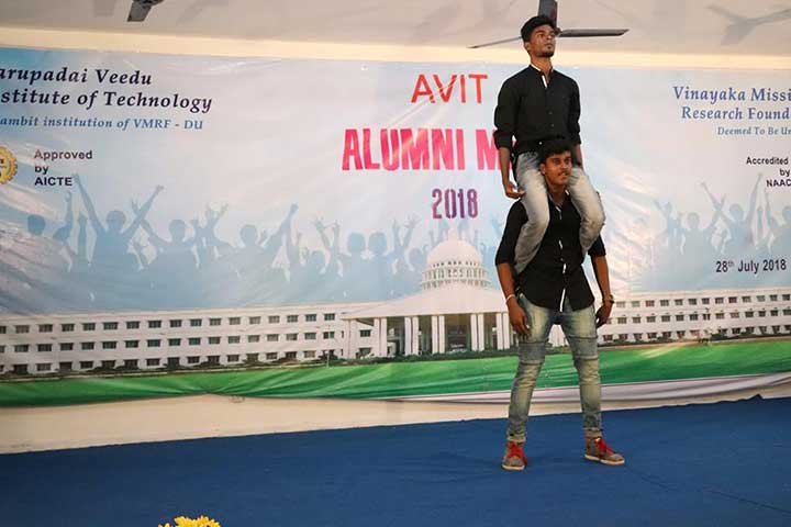Stunt in AVIT Alumni Meet 2018