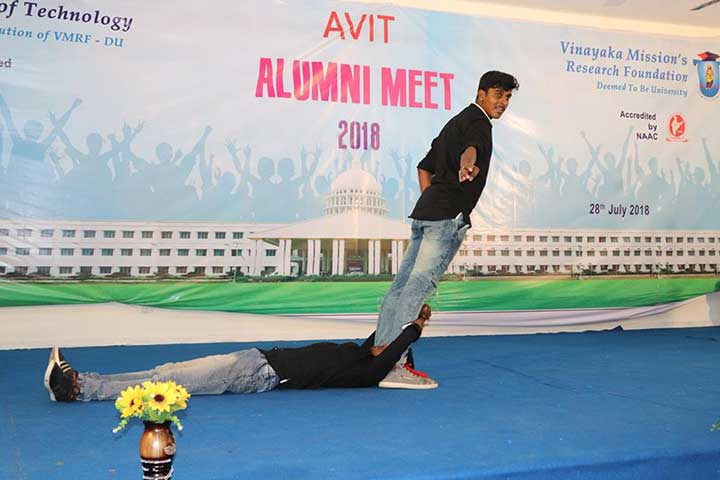 Dance in AVIT Alumni Meet 2018